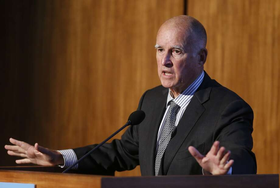 Gov. Jerry Brown, who will lead a delegation to the climate talks in Paris, has already secured enlisting agree ments from other states and countries to cut green house gas emissions. Photo: Lenny Ignelzi, Associated Press