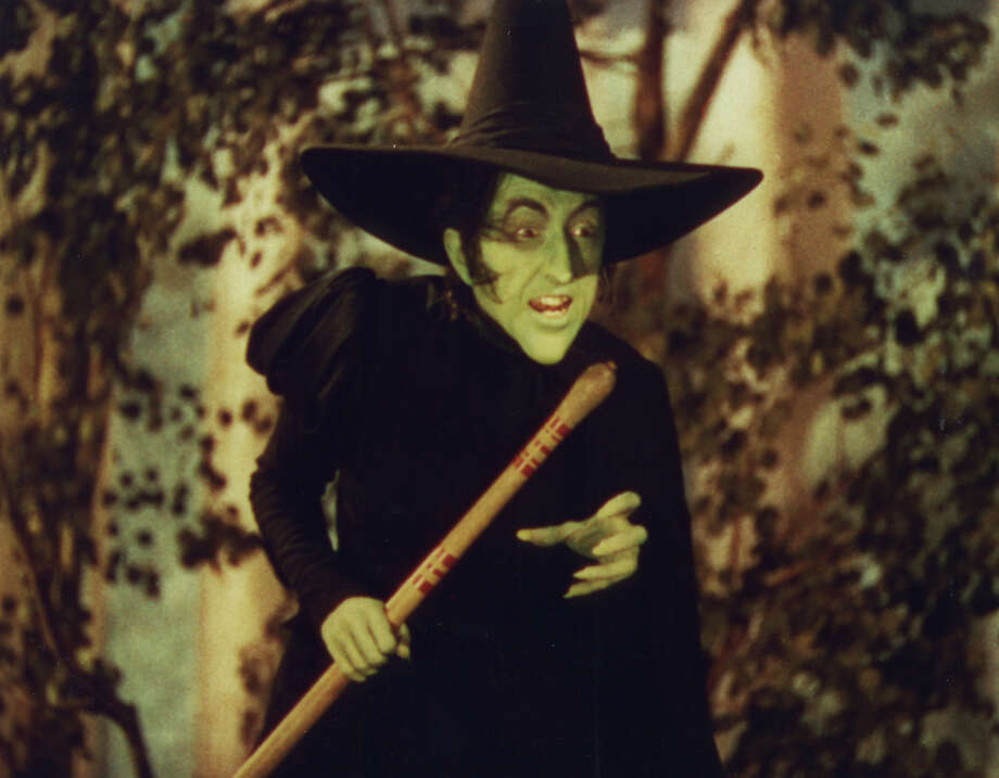 "Actress Margaret Hamilton is shown in character as the infamous Wicked Witch of the West in the 1939 musical ""The Wizard of Oz.""  Photo: HO / WARNER BROS ENTERTAINMENT"