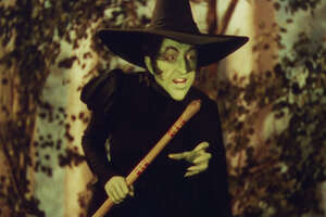 "** EMBARGOED UNTIL 11 PM EDT ** ``THE WIZARD OF OZ''  (1939) - Actress Margaret Hamilton is shown in character as the infamous Wicked Witch of the West in the 1939 musical ""The Wizard of Oz."" Hamilton, whose witch character doubled as Miss Almira Gulch, was fourth on the American Film Institute's list of screen villains.  The institute unveils its ranking Tuesday night, June 3, 2003, of the top good and bad guys in American film on the CBS special ``AFI's 100 Years    100 Heroes & Villains.''(AP Photo/Warner Bros. Entertainment, File).     HOUCHRON CAPTION (06/04/2003):  The Wicked Witch of the West (Margaret Hamilton) in ""The Wizard of Oz"" and Hannibal Lecter (Anthony Hopkins) in ""The Silence of the Lambs"" (NOT PICTURED) are among the top villains."
