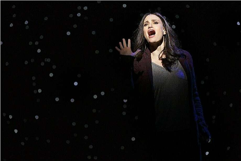 """A Tony Award-winner for """"Wicked,"""" Idina Menzel stars in the new musical """"If/Then"""" at SHN's Orpheum Theatre through Dec. 6. Menzel performed in the show on Broadway and is on tour with other members of the original Broadway cast including Anthony Rapp and LaChanze. Photo: Joan Marcus"""