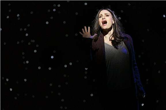 """A Tony Award-winner for """"Wicked,"""" Idina Menzel stars in the new musical """"If/Then"""" at SHN's Orpheum Theatre through Dec. 6. Menzel performed in the show on Broadway and is on tour with other members of the original Broadway cast including Anthony Rapp and LaChanze."""