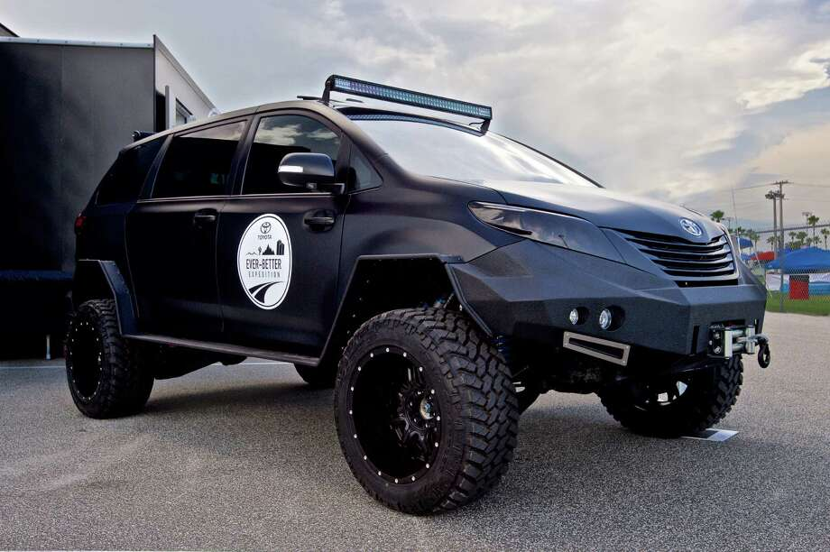 Ever-Better Expedition. The driving project unfolds over the course of 110 days across five continents in the most extreme driving conditions, according to a release. The Toyota Ultimate Utility Vehicle (UUV) is a sleek monster on wheels chosen to lead the charge. Photo: Anthony Wallen, Toyota / © 2015 Anthony Wallen