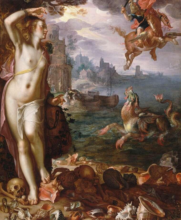Joachim Wtewael, Perseus and Andromeda, 1611, oil on canvas, Musée du Louvre, Paris.