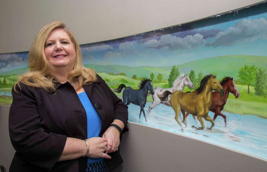 """Michele McNichol, CEO of Wood Group Mustang: """"I don't think the downturn is going to have any more of an adverse effect on women than it does on men. It's who has the right skill sets for the work available, and that's gender-less."""" Photo: Wood Group Mustang"""
