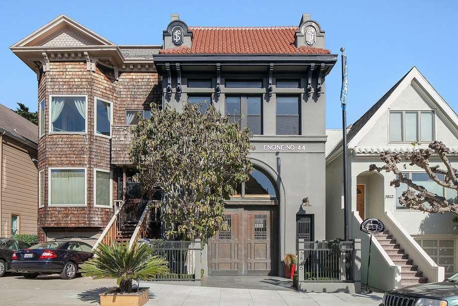 The facade retains its historic embellishments. Photo: OpenHomesPhotography.com