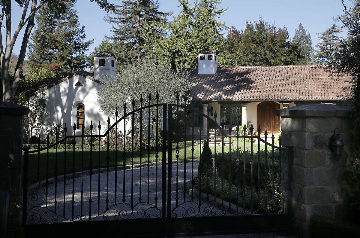 This residence in Alamo, Calif., is one of the highest water users as reported by the East Bay Municipal Utility District, seen on Thurs. October 30, 2015.