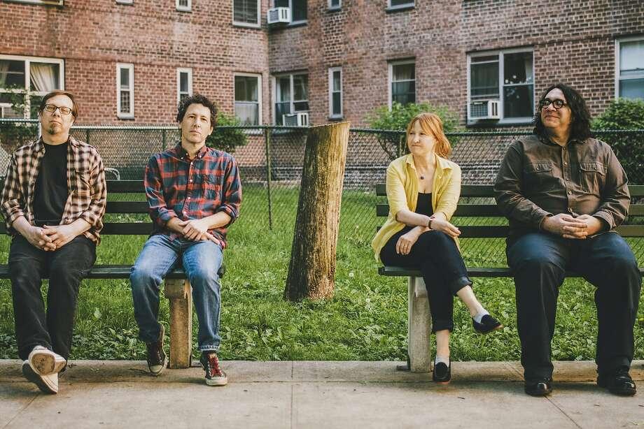 "Yo La Tengo — Dave Schramm (left), Ira Kaplan, Georgia Hubley and James McNew — plays mostly covers on its 14th and latest album, ""Stuff Like That There."" Photo: Yo La Tengo"