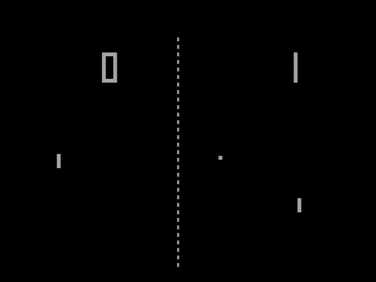 Pong, a first-generation home video game, mimicked tennis.