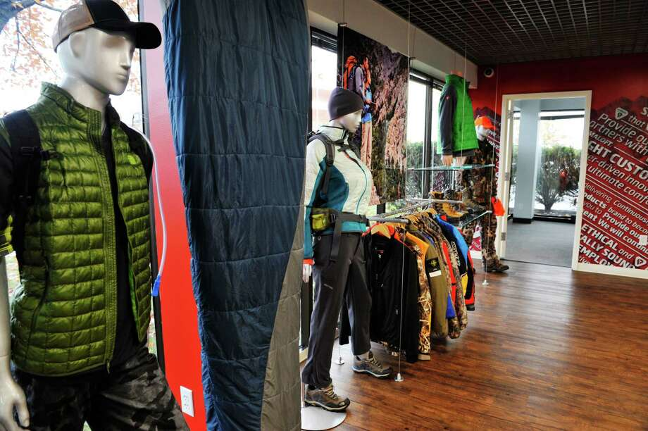 A view of some of the products that use PrimaLoft insulation are on display in the showroom at the company's headquarters on Thursday, Oct. 29, 2015, in Latham, N.Y.   (Paul Buckowski / Times Union) Photo: PAUL BUCKOWSKI / 00033987A
