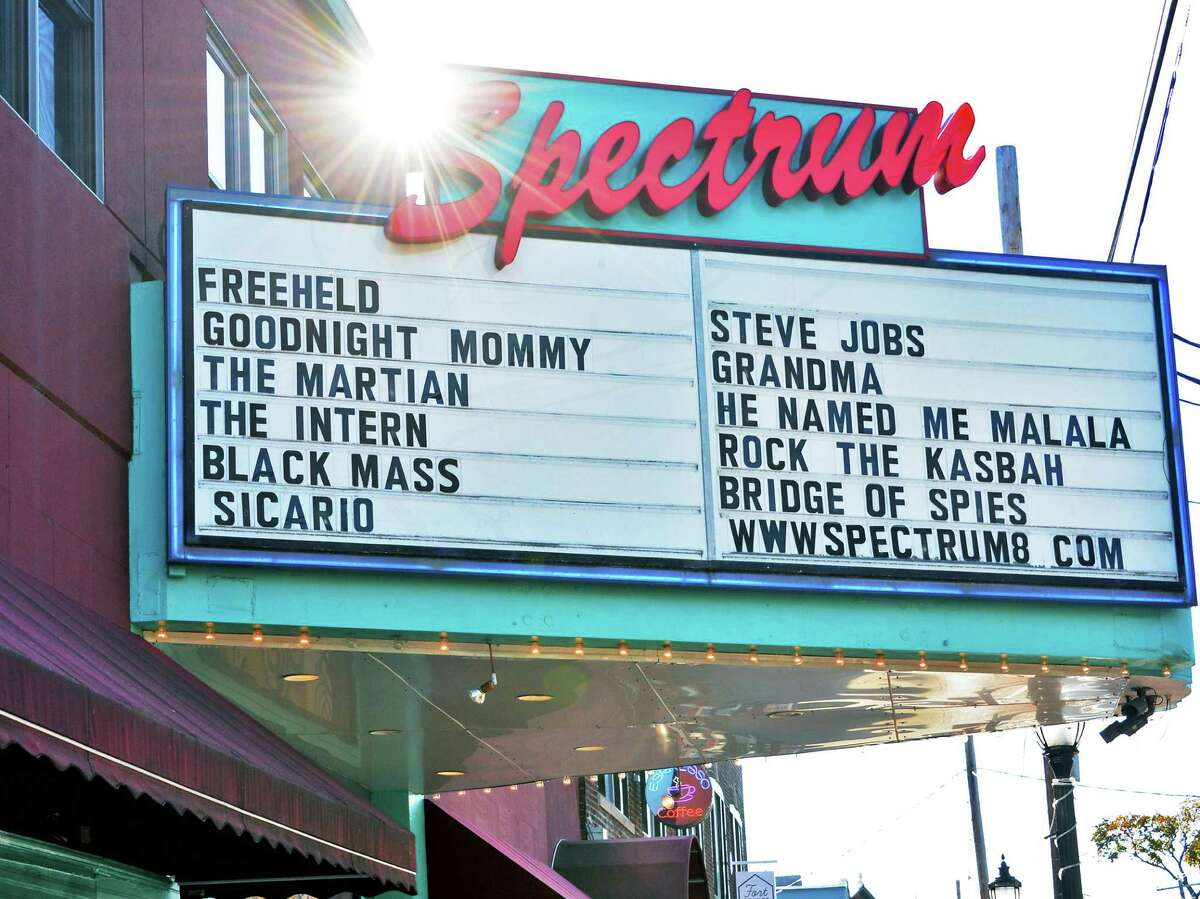 The Spectrum Movie Theatre on Delaware Avenue Friday Oct. 23, 2015 in Albany, NY. (John Carl D'Annibale / Times Union)