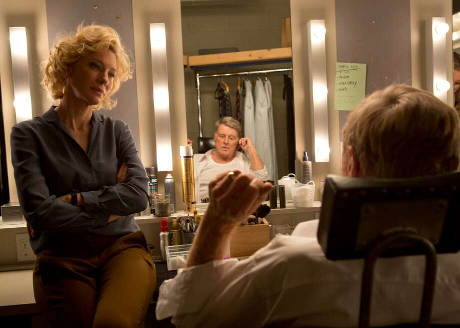 """In this image released by Sony Pictures Classics, Cate Blanchett portrays Mary Mapes, left, and Robert Redford portrays Dan Rather in a scene from, """"Truth."""" (Lisa Tomasetti /Sony Pictures Classics via AP) ORG XMIT: NYET518 Photo: Lisa Tomasetti / Sony Pictures Classics"""