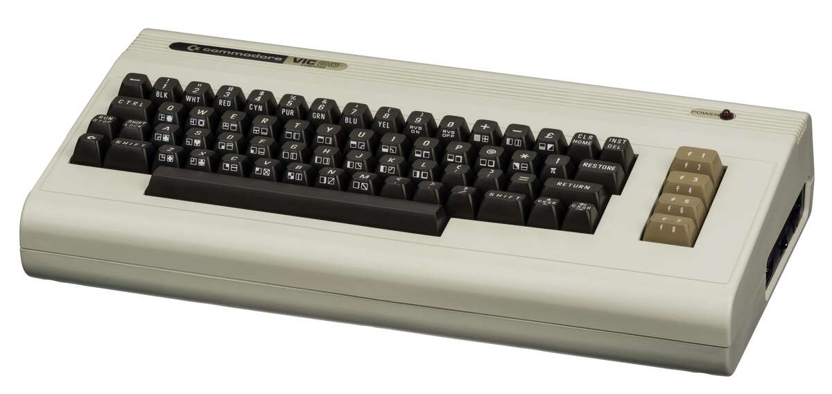 The Commodore-VIC-20-FL, released in 1980.