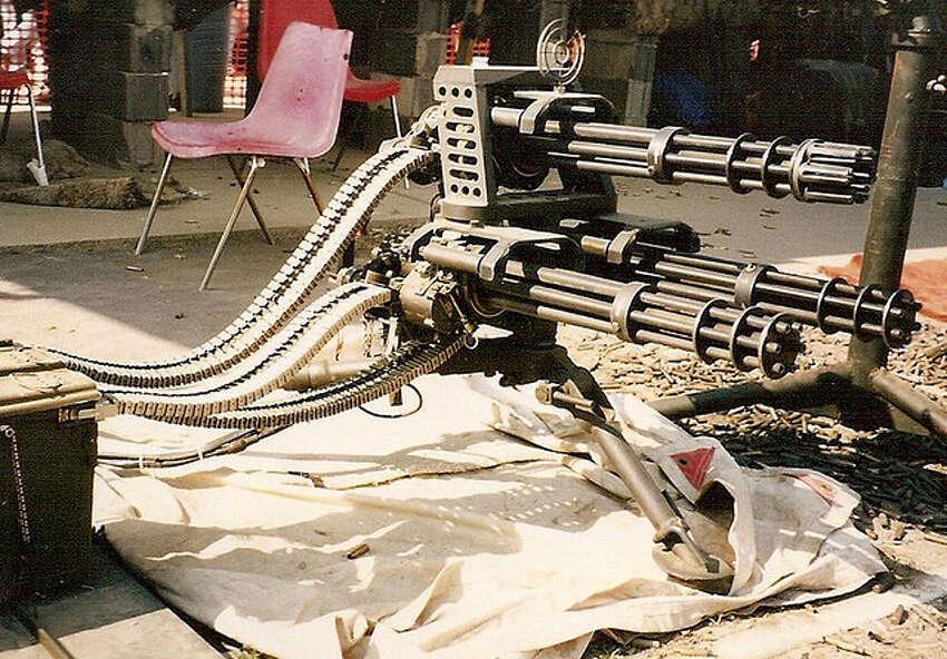 The Knob Creek Gun Range hosts the Machine Gun Shoot twice a year in Kentucky.