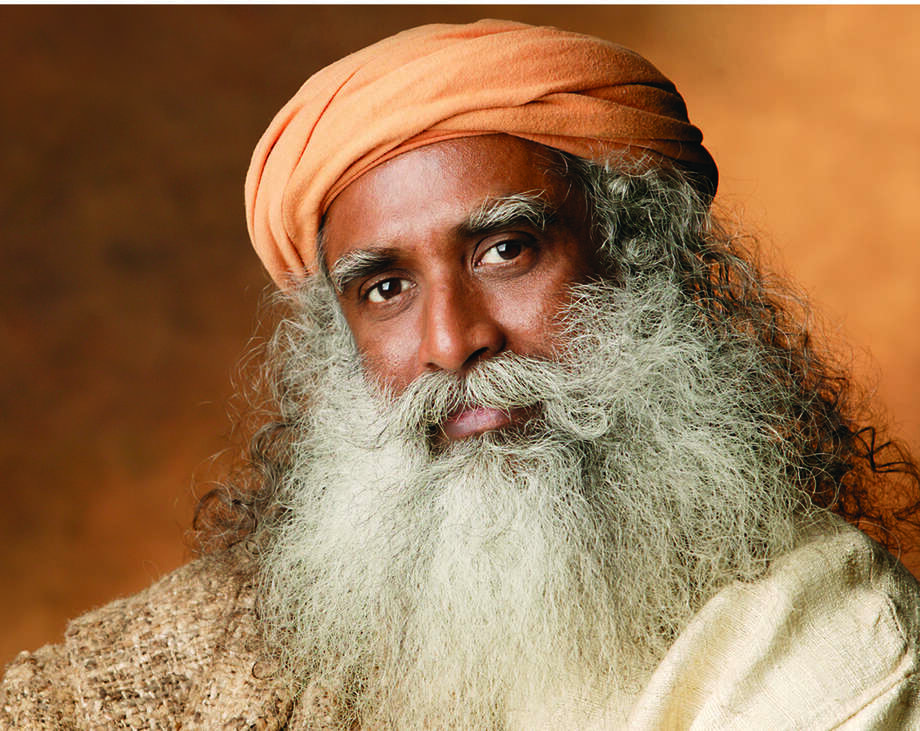Yogi Sadhguru Jaggi Vasudev. Photo: Isha Foundation / handout