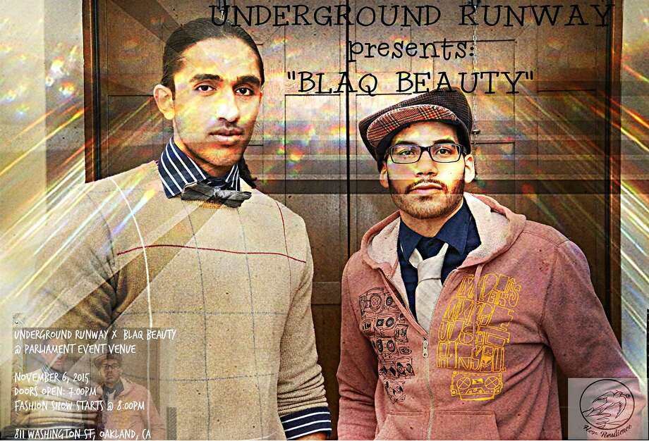 Underground Runway presents Blaq Beauty, a showcase for emerging designers and models. 7 p.m. Friday, Nov. 6, Parliament Oakland, 811 Washington St., Oakland. Photo: Courtesy Underground Runway