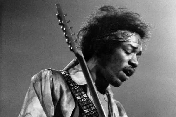 Jimi Hendrix, 1942-1970. Hendrix, born in Seattle, taught himself to play guitar, which may have influenced the unique style he eventually developed. Known to much of the world as one of the most important and influential guitarists of modern times, Hendrix formed the Jimi Hendrix Experience in London after working as a touring guitarist in several U.S. groups, including a backing band for Little Richard. His career took off with the Experience, but was cut short when he died at the age of 27 in 1970. He is buried at Greenwood Memorial Park in Renton.