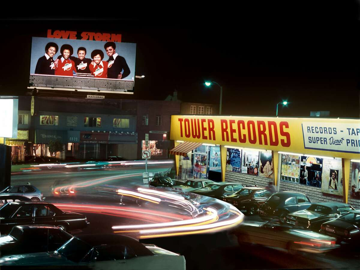 """""""All Things Must Pass: The Rise and Fall of Tower Records"""" Tower Records on the Sunset Strip circa 1980"""