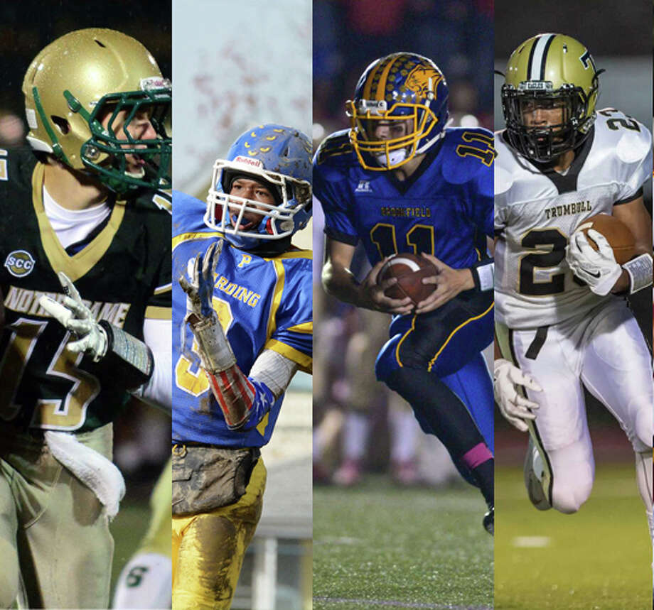 Notre Dame-West Haven (3 votes), Harding (7 votes), Brookfield (7 votes), Trumbull (3 votes).