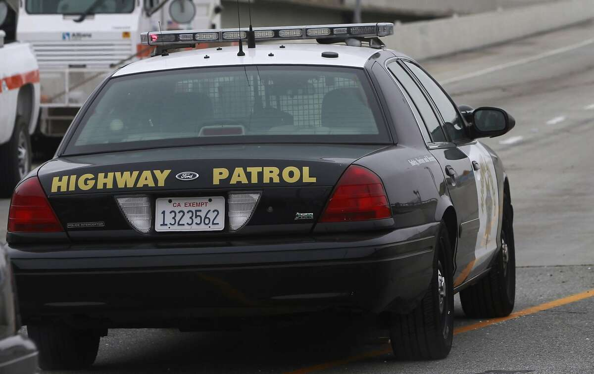 CHP patrol car in San Francisco, Calif. on Wednesday, June 26, 2014.