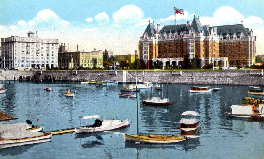 The inner harbor of Victoria, British Columbia's touristy capital. The city and surrounding municipalities dump 34 million gallons of raw sewage, plus toxics, into the Strait of Juan de Fuca each day. Onetime Canadian Olympic swimmer Elaine Tanner decries endless delays in siting a treatment plant.  Photo: Print Collector, Getty / The Print Collector / Heritage-Images