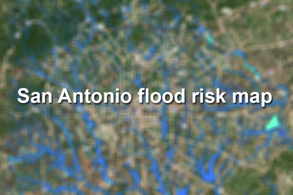 San Antonio floodplains and flood risks, according to maps provided by the San Antonio River Authority.