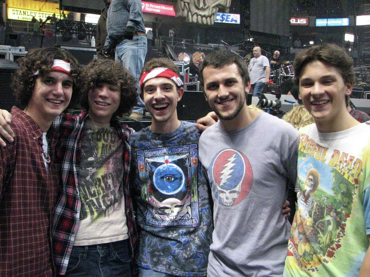 Were you Seen at Dead & Company featuring Grateful Dead members Bob Weir, Bill Kreutzmann and Mickey Hart along with John Mayer, former Allman Brothers Band bassist Oteil Burbridge and keyboardist Jeff Chimenti at the tour's opening night at the Times Union Center in Albany on Thursday, Oct. 29, 2015?