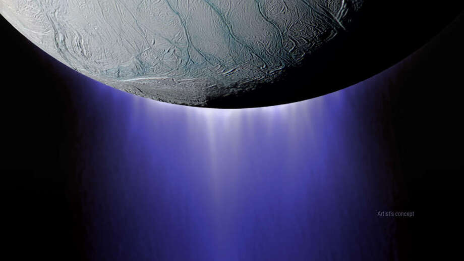 Cassini spacecraft dives into Saturn moon's jetting vapors