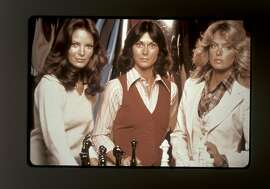 ANGELS08C-C-03NOV00-DD-SPCL--The original cast of Charlie's Angels from left are Jaclyn Smith, Kate Jackson and Farah Fawcett. MUST CREDIT:  COLUMBIA TRISTAR TELEVISION/SPECIAL TO THE CHRONICLE ONE TIME USE ONLY; FOR PRICING AND RIGHTS TO USE YOU MUST CONTACT: EDWARD ZIMMERMAN 310.202.3789