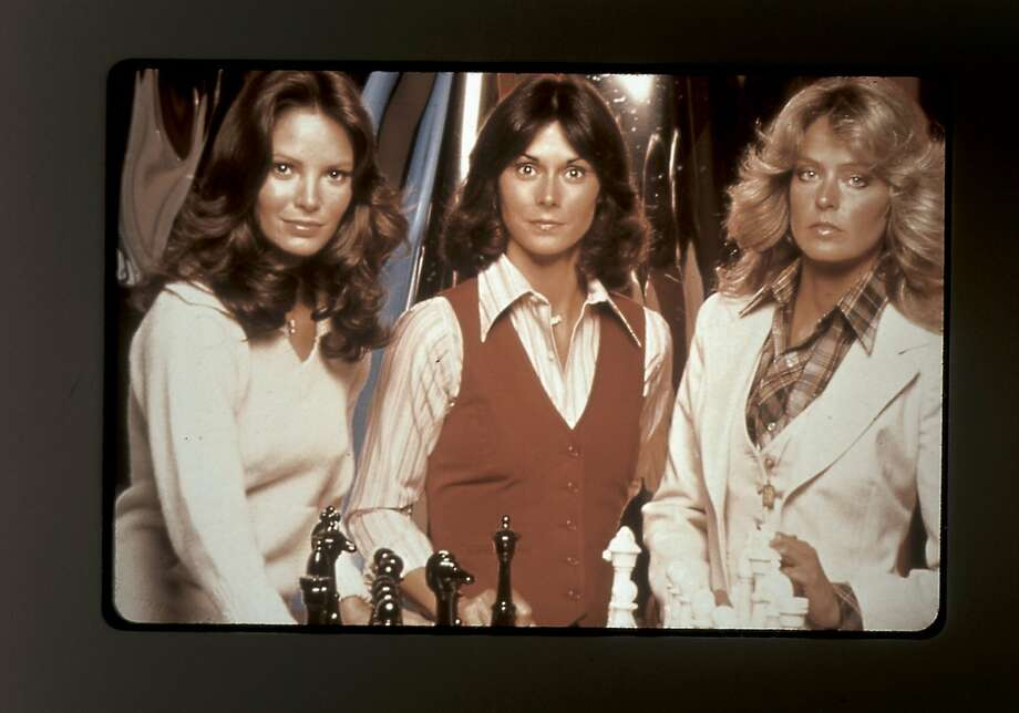 ANGELS08C-C-03NOV00-DD-SPCL--The original cast of Charlie's Angels from left are Jaclyn Smith, Kate Jackson and Farah Fawcett. MUST CREDIT:  COLUMBIA TRISTAR TELEVISION/SPECIAL TO THE CHRONICLE ONE TIME USE ONLY; FOR PRICING AND RIGHTS TO USE YOU MUST CONTACT: EDWARD ZIMMERMAN 310.202.3789 Photo: SFC