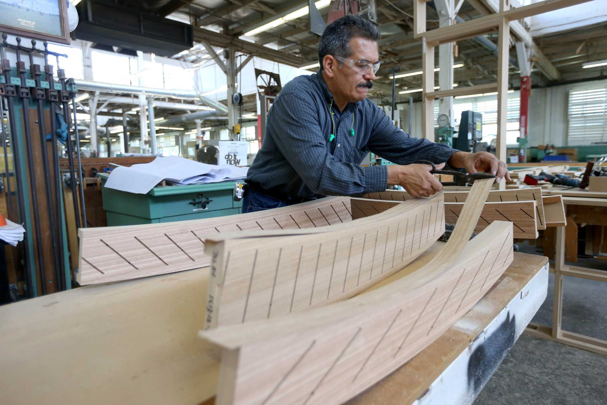 Woodworking Company Still Solid After 80 Years Houstonchronicle Com