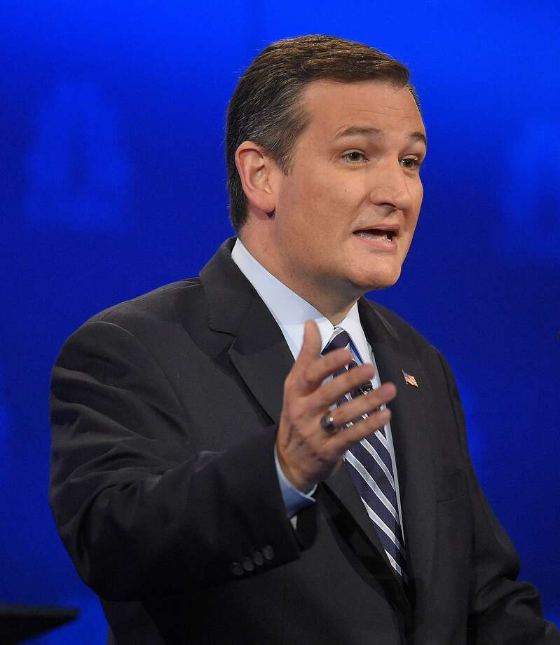 Republican presidential candidate, Sen. Ted Cruz, R-Texas, speaks during the CNBC Republican presidential debate at the University of Colorado, Wednesday, Oct. 28, 2015, in Boulder, Colo. (AP Photo/Mark J. Terrill) Photo: Mark J. Terrill, Associated Press