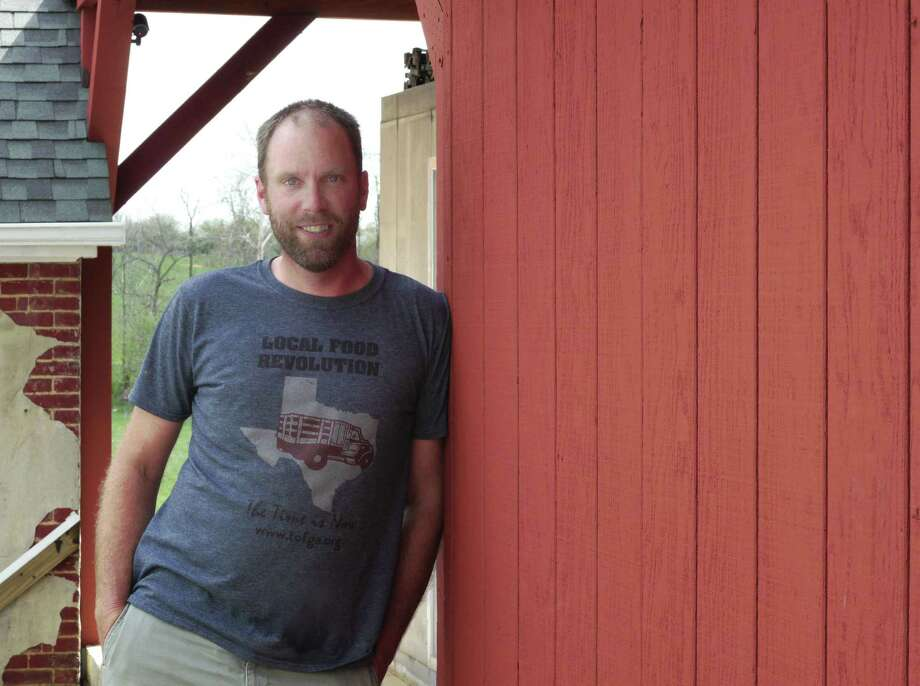 """Author and Virginia farmer Forrest Pritchard successfully, as he put it in a recent interview, """"rebooted"""" his grandparents' struggling family farm, making it profitable for the first time in decades, an experience he detailed in his New York Times bestselling book """"Gaining Ground: A Story of Farmers' Markets, Local Food, and Saving the Family Farm"""" (2013). His newest book is a collection of recipes, photographs and stories. At 7 p.m. Thursday, Nov. 5, 2015, Pritchard will talk about the book at the Voorheesville Public Library. (Craig McCord)"""