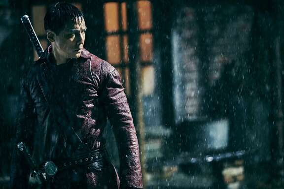 AMC's new dystopian kung-fu series,  Into the Badlands , debuts on Sunday, November 15th.