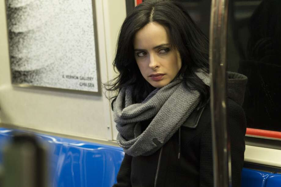 'Marvel's Jessica Jones' - The dark comedy begins streaming on Netflix on Friday, November 20th.Keep clicking for other Netflix Original Series you can stream now. Photo: MYLES ARONOWITZ