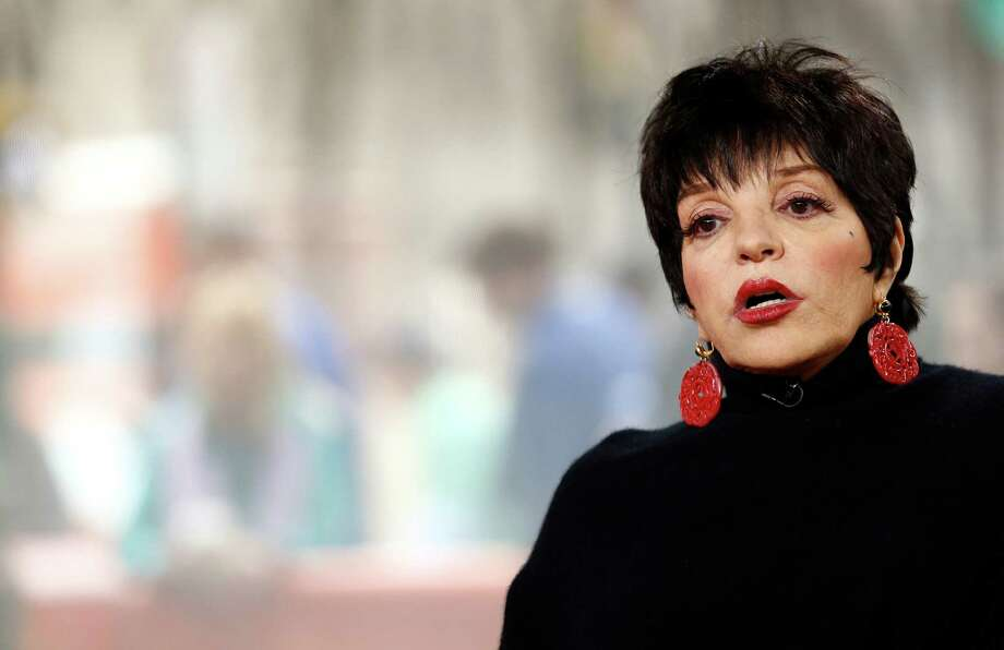 "Liza Minnelli appears on NBC News' ""Today"" show March 12, 2014. Photo: NBC NewsWire /NBCU Photo Bank Via Getty Images / 2014 NBCUniversal Media, LLC."