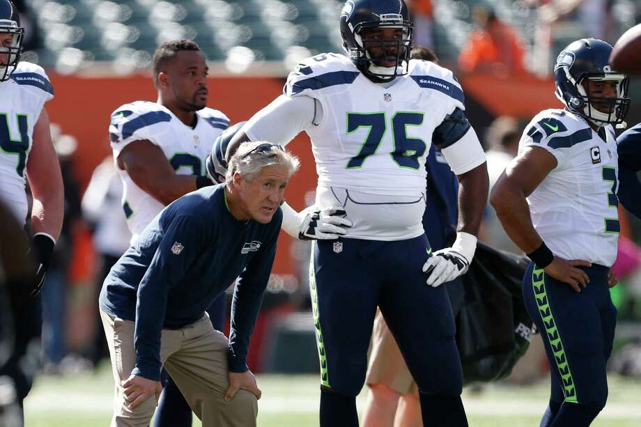 Russell Okung Inactive Dez Bryant Active As Seahawks Take