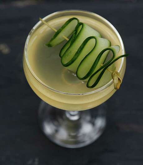 The Sake cocktail at Wooster's Garden  Photo: James Nielsen, Staff / © 2015  Houston Chronicle