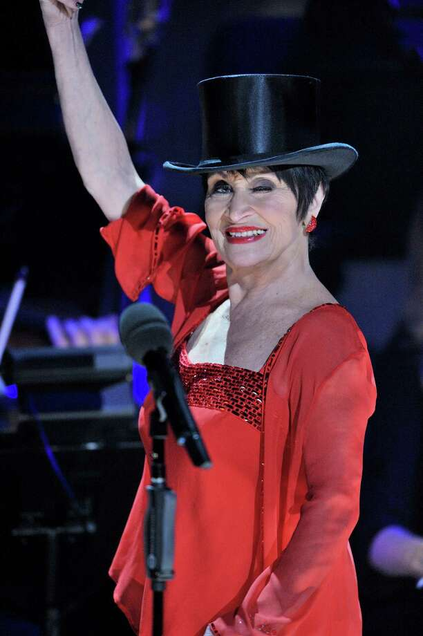 """Broadway legend Chita Rivera dons a top hat and sings """"All That Jazz"""" in the Great Performances special """"Chita Rivera: A Lot of Livin' to Do: on PBS. Photo: Joseph Sinnott / WNET / ©2015 WNET"""