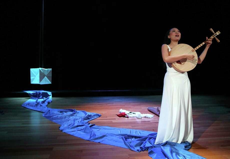 Musician Jen Shyu will perform Friday at the Asia Society Texas Center. Photo: Tom Shea