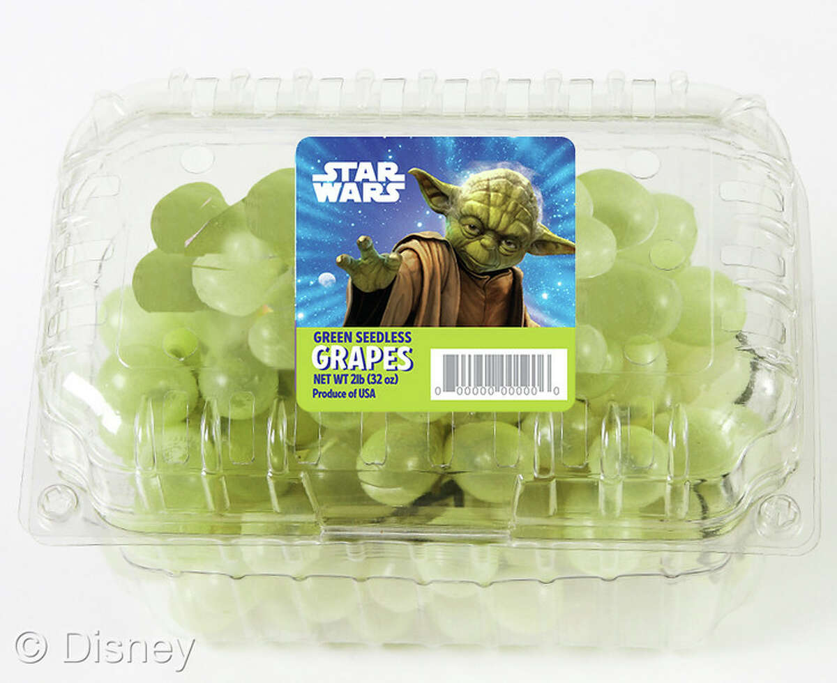 The power of the force is coming to the produce aisle with Star Wars-branded fruit.