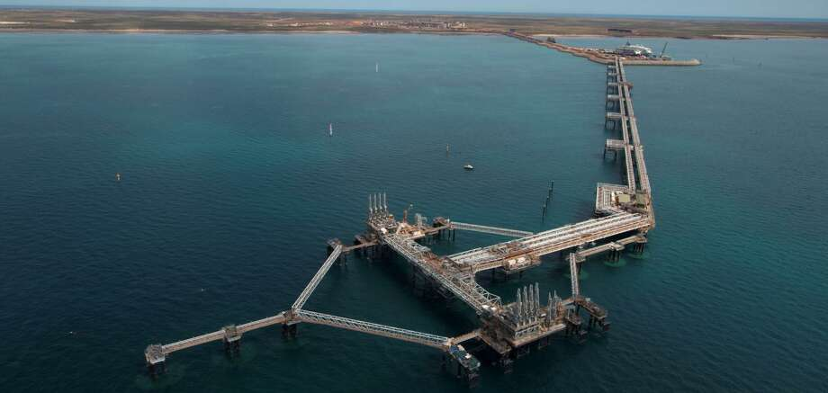 Chevron said it's preparing to its Gorgon project in Australia to ship its first cargo of liquefied natural gas in the first quarter of 2016. Photo: Chevron