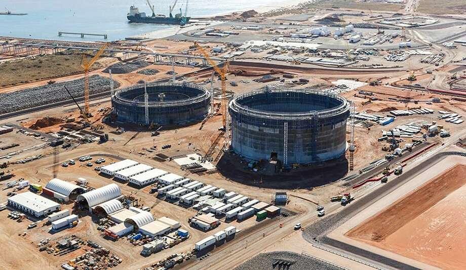 Chevron Corp. built the Wheatstone liquefied natural gas project in Australia at a cost of $29 billion.  (Chevron) Photo: Chevron Corp.