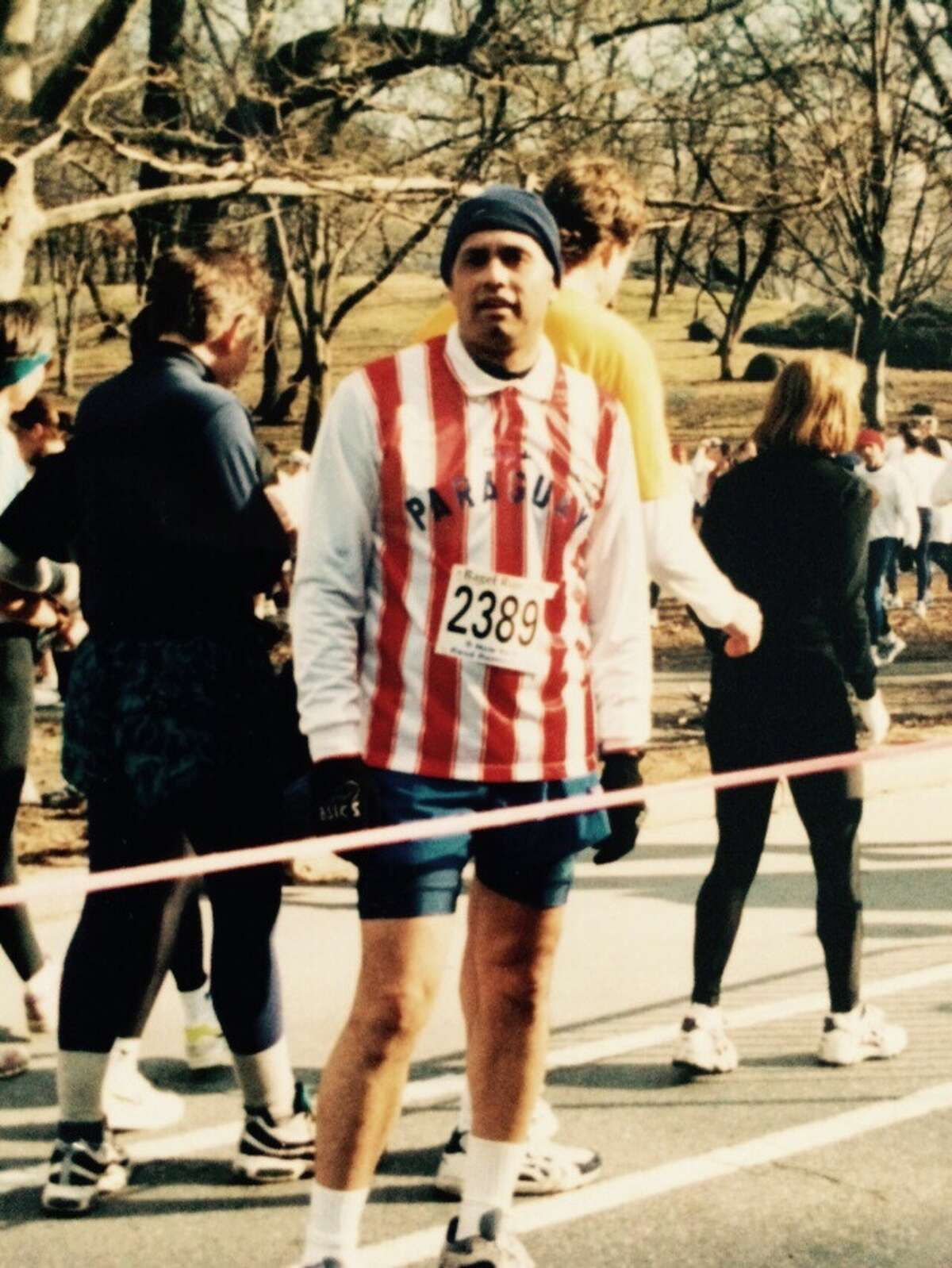 Stamford resident Hugo Mujica will participate in his 100th race this Sunday when he takes part in the TCS New York City Marathon.