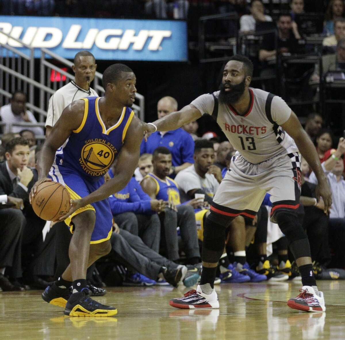 SMALL FORWARD The Rockets will likely use Trevor Ariza in a variety of matchups, ranging from having him go against Draymond Green in small lineups to Stephen Curry. Ariza made 46.2 percent of his shots in wins, 37 percent in losses. Harrison Barnes averaged 11.7 points, one fewer than Ariza, but on 46.6 percent shooting, 38.3 percent 3-point shooting. He averaged 15.5 points in just 29 minutes against the Rockets. Edge:Warriors