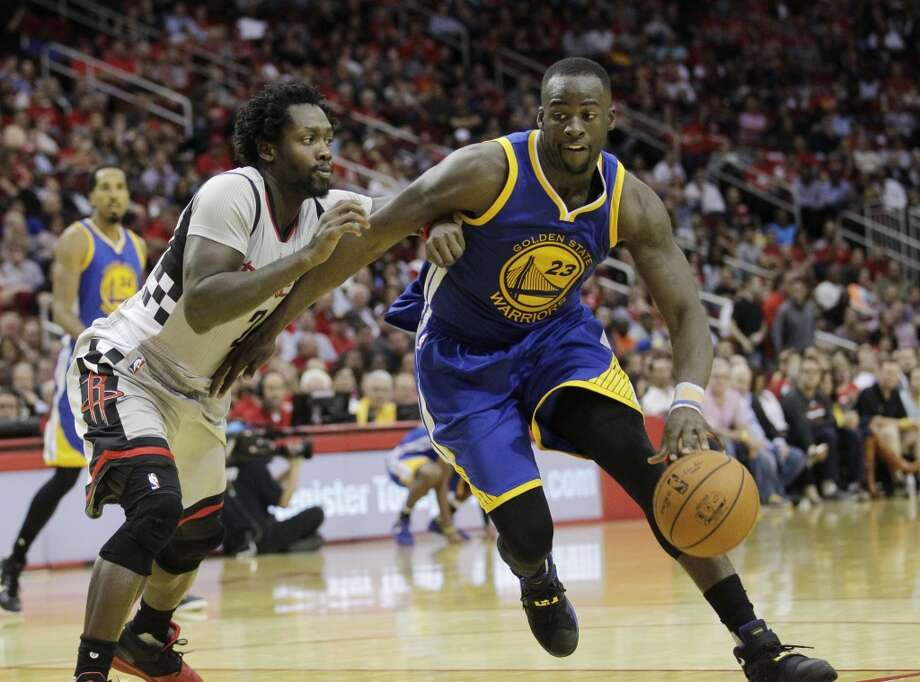 Draymond Green and the Warriors were a step ahead of everyone after their record winning streak to start the 2015-16 season. Photo: Jon Shapley, Houston Chronicle