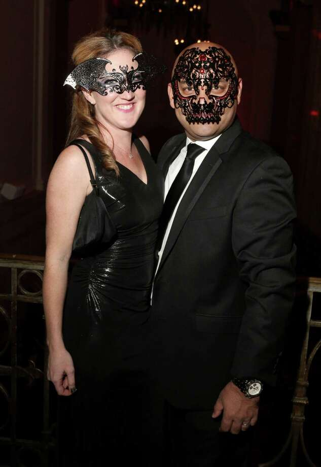 Were you Seen at The Masquerade, a benefit for Ronald McDonald House Charities of the Capital Region, Inc., held at The National Savings Bank in Albany on Friday, Oct. 30, 2015? Photo: Joe Putrock/Special To The Times Union