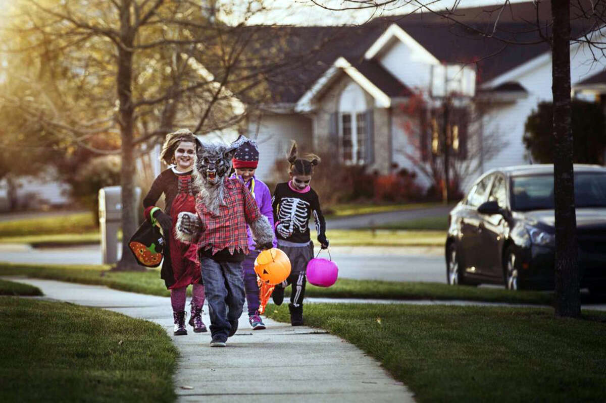 41.1 million The estimated number of potential trick-or-treaters in 2015 - children ages 5 to 14 - across the U.S. Of course, many other children - older than age 15 and younger than age 5 - also go trick-or-treating.Source: U.S. Census