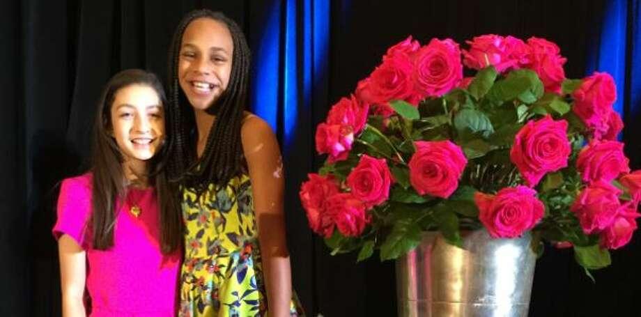 Lauren Gaston Elie and Jordan Fein, founders of Flower Power Gives. Photo: Flower Power Gives