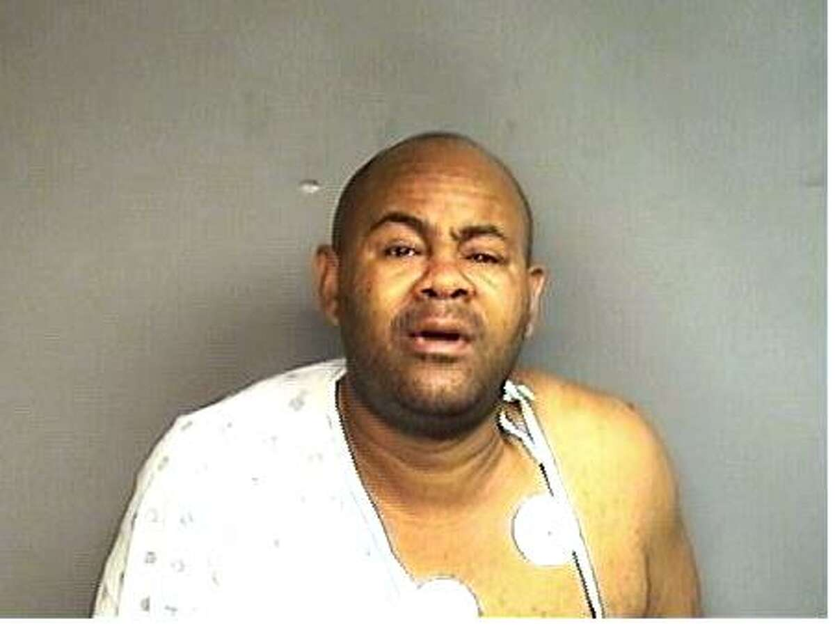 Charles Brown, 49, of Stamford, was arrested Thursday and charged with strangling and brutally beating his fiance.