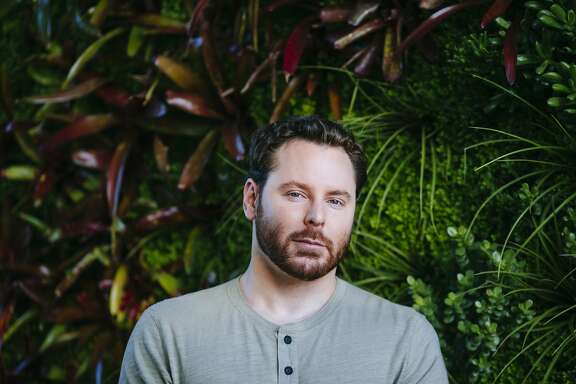 Sean Parker poses for a portrait at his home in Beverly Hills, California, November 21, 2014.